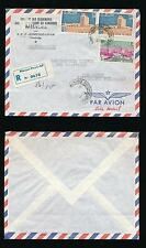 CAMBODIA 1962 REGISTERED AIRMAIL to GERMANY