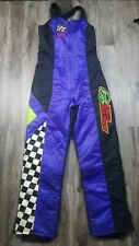 Vintage Arctic Cat Arcticwear Snowmobile Snow Bibs Pants Womens Size Large Tall