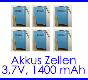 1400mAh 3,7V LI-ION Battery CGP345010 Long-Lasting Rechargeable Cell