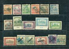 SLOVENIA YUGOSLAVIA 1919 lot of 17 st. - hand overprint S H S mixed used hinged