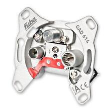Fuba GAD 614 programmierbare Durchgangs-Sicherheitsantennendose mit einer Ansch