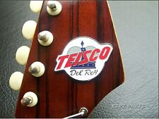 Teisco Del Rey Logo for Vintage Guitar & Bass - Glue on type - EZPZ GUITAR PARTS