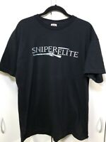 PlayStation Xbox Xb Wii SNIPER ELITE Mens Tee T Shirt Sz XL RARE Namco 2000s