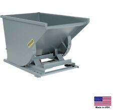 FORKLIFT HOPPER / DUMPSTER Commercial - Self Dumping - 1 CY - 4000 Lb Cap MDG