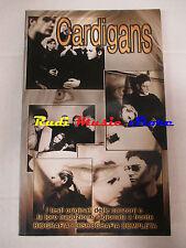 BOOK LIBRO CARDIGANS Testi traduzione biografia 1999 LO VECCHIO lp dvd live **