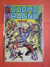 UOMO RAGNO spiderman -N° 209 -prima SERIE 1°- DEL 1978 -EDIZIONI CORNO- usato-a