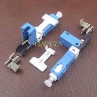 100pcs Optic Fiber Fast Connector Embedded Fiber Quick Connector V2 Type Cold