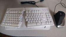 Split Keyboard + Vertical Mouse