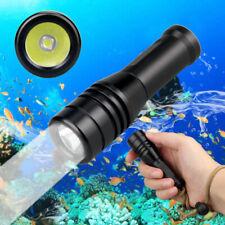 570LM  XM-L2 LED Scuba Diving Flashlight Underwater 80M Diving Torch Waterproof