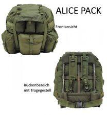 Original US RUCKSACK ALICE PACK Groß komplett mit Tragegestell ARMY BACKPACK