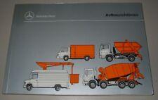 Handbuch Aufbaurichtlinien Mercedes Transporter MB 100 D T2 LKW LK MK SK 12/1995