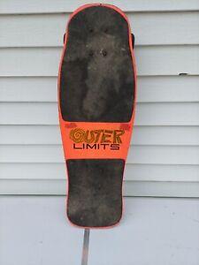 Vintage VARIFLEX OUTER LIMITS Skateboard Skate Board