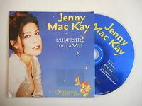 JENNY MAC KAY : L'HISTOIRE DE LA VIE [ FRENCH PROMO CD SINGLE ] ~ ELTON JOHN