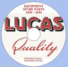 Lucas Parts Information dvd 1939 ~ 1954