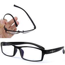 Men Womens Black Flexible Eyeglasses Frame Computer Glasses Optical Eyewear
