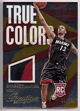 2014-15 Prestige #44 SHABAZZ NAPIER RC Rookie True Colors Patch /25 Miami Heat