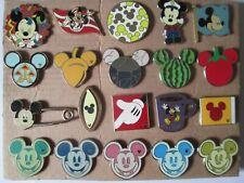 s10 lotto 20 spille MICKEY MOUSE topolino walt disney ratón mickey lot pins