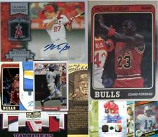 Absolute Memorabilia 2020 Series 1 Mystery Pack 10 Cards Patch Auto Mike Trout +