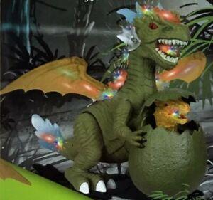 Electric Walking Dinosaur Toy Dragon Walking Eggshell Hatching Girls Boys Toys