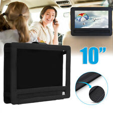 10'' Portable DVD Lecteur Appui-tête Voiture Housse Support Voyage Transport