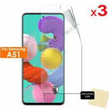 3 Pack of Samsung Galaxy A51 CLEAR Screen Protector Cover Guards
