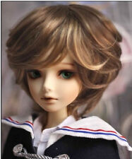 "1/4 bjd 7-8"" mohair doll wig 2 colors mixed minifee msd dollfie luts iplehouse"