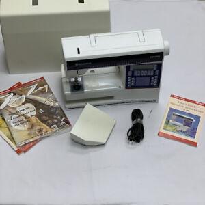 Husqvarna Viking Lily 535 Quilting Sewing Machine w/ Case & Instruction Manual