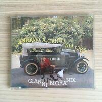 Gianni Morandi - Andavo a Cento All'Ora - CD Single - 1992 BMG