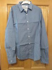 "Frank & Eileen Italian Cotton PAUL Shirt - Size S - ""Fish"" Pattern - NEW"