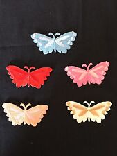 Sew on embroidery patches(Butterfly Set- 5Pcs)