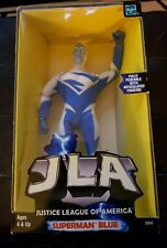 "JUSTICE LEAGUE OF AMERICA SUPERMAN BLUE 8"" FULLY POSEABLE ACTION FIGURE JLA"