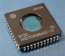 5 pcs HITACHI HN27C4096ACC-10 PLCC-44 PT 5C 5#16 PIN RECP