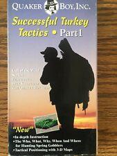 Quaker Boy presents Successful Turkey Tactics part 1