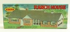 Aurora Ranch House Kit #653 HO Scale Slot Car Railroad BOX ONLY