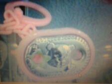Solo Catena pinza per ciuccio neonato  sfoglia argento 925  pacifier chain baby