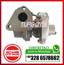 TURBINA TURBOCOMPRESSORE TURBORAIL FIAT Qubo (225) 1.3 D Multijet