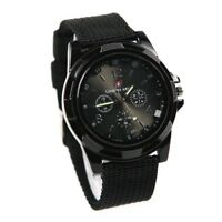 gemius army Military Army Pilot Fabric Strap Sports Men Watch Black M4G1