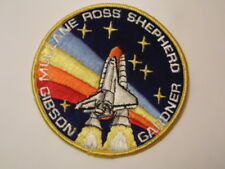 RAINBOW NASA SPACE SHUTTLE PATCH Mullane Ross Shepherd Gibson Gardner ASTRONAUTS