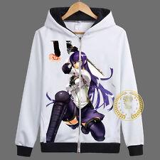 Anime HighSchool of the Dead Unisex Hoodie Cosplay Coat Zipper Sweatshirt#JK23
