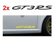 2 x GT3RS GT3-RS  side sill / door / window ect  Sticker   Decal