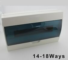 14- 18 ways Plastic distribution box for circuit breaker indoor on the wall