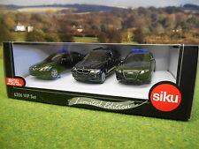 SIKU LIMITED EDITION VIP CAR SET 1/55 6306 BMW & AUDI BRAND NEW
