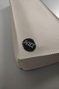 IBM Model M Keyboard Dust Cover Staubschutz Kunstleder grau beige perforiert
