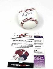 Greg Maddux Atlanta Braves Signed Autograph Official MLB Baseball JSA & LoJo Spo