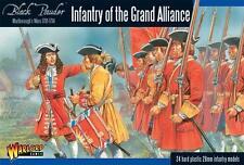 Marlborough'S WARS: FANTERIA della Grande Alleanza-SIGNORE DELLA GUERRA-BLACK Powder