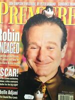 Premiere Magazine Robin Williams Isabelle Adjani April 1996 123117nonrh