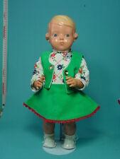 PK019a/Altes Puppenkleid 50J. für 35 cm. Celluloid Puppe