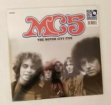 MC5 Motor City Five Multi-Colored Vinyl LP Record Run Out Groove Limited #0828