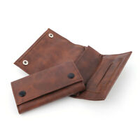 1Pcs Portable Tobacco Pouch Bag Case Leather Smoking for Rolling Cigarette Paper