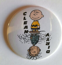 Peanuts Charlie Brown Pigpen  Dishwasher Magnet Clean Dirty portable